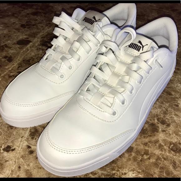 Puma Shoes   Mint Court Breaker Mono